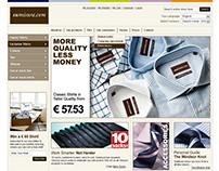 Sumisura - Web design