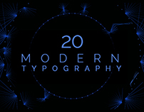 20 Modern Animated Typography