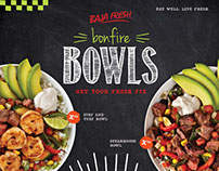 Baja Fresh - Bonfire Bowls