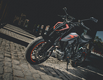 KTM 1290 Super Duke R Shooting