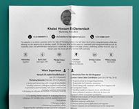 Resume Design | Marketeer