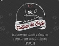 Promoção delícia de café