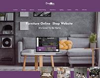 Furniture Online Shop Website UI/UX Design