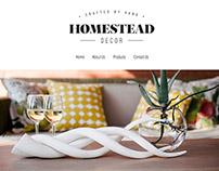 Homestead Decor | Web Design