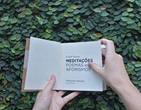 Projeto Gráfico do livro Meditações Poemas e Aforismos