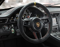 Porsche GT3 RS Interior