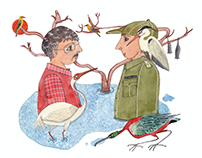 Illustrations for Mukha