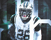 Le'veon Bell // Jersey Swaps and Design Projects \\ NFL