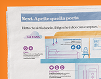 La Repubblica / Next infographics
