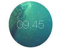 Proposed iWatch UI design