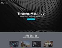 Maslindo Wordpress website