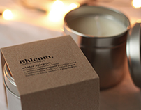 Soy Candle Label Re-Design [Bhleum]
