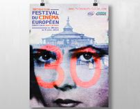 Poster - Festival du Cinéma européen - 30th edition
