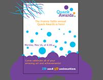 Quack awards poster.