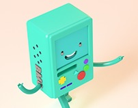 Bmo character animation Cycle