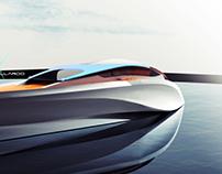 Luxury yacht - sketch - SOON