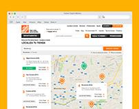Home Depot: Localiza tu tienda