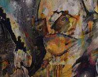 """ Nepotism "" self portrait 2016"
