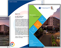 Brochure Design - KMCH Research Foundation