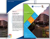 Brochure Design - KMCH Research Foundation