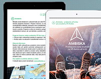 Brochure for first-year students of Ambis university