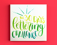 The 30 Days Lettering Challenge