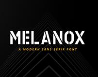 MELANOX Sans serif