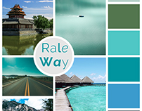 Moodboard for Travel Website