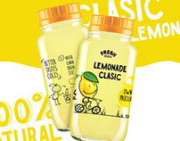 Fruit lemonade labels