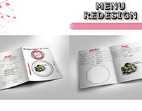 Mock up - Spices Thai Cafe Menu Redesign