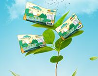Attijari Wafabank - Cartes Biodégradables