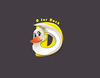 D For Duck Logo Animation