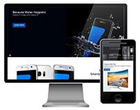 Samsung USA Home Page Redesign