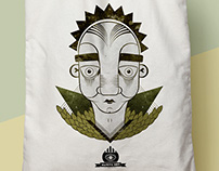 Ilustración textil Native Boy