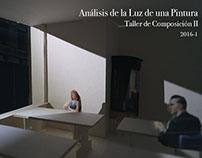 Análisis de la luz en una pintura - T. Composición II