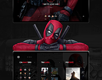 Deadpool 2- mini website