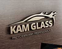 Identyfikacja wizualna firmy Kam Glass