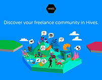 Animated Tutorial for Freelancing Community Site