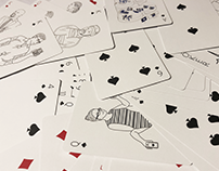 MEDHOST playing card design