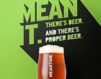Meantime Brewery Outdoor Campaign