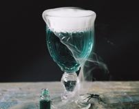 Halloween cocktails / cinemagraphs