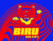 BIRU - beer design