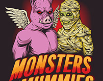 El Monstero / Here Come The Mummies Poster