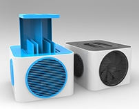 3D project - DESKTOP AIR COOLER