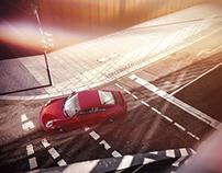 PORSCHE 911 Carrera CGI / Postproduction