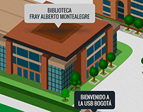 Mapa- Universidad San Buenaventura