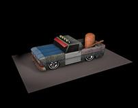 Rusty Rat Pick Up Truck