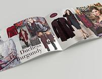 Seasonal fashion brochure design
