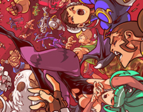 UDON Ent's Street Fighter VS Darkstalkers Covers