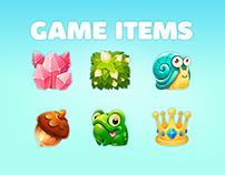 Match-3 icons